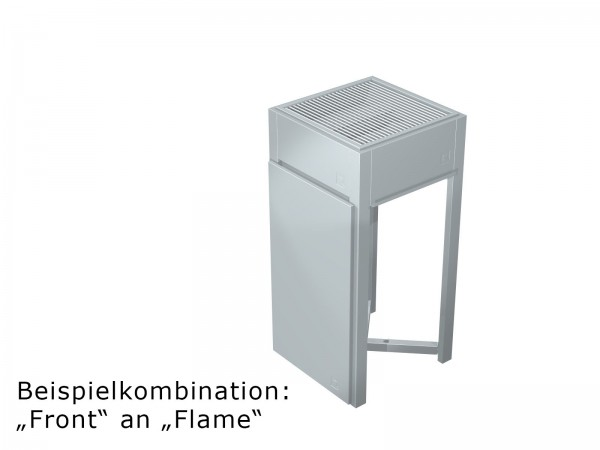 """Sichtschutz """"Front"""" Inox"""