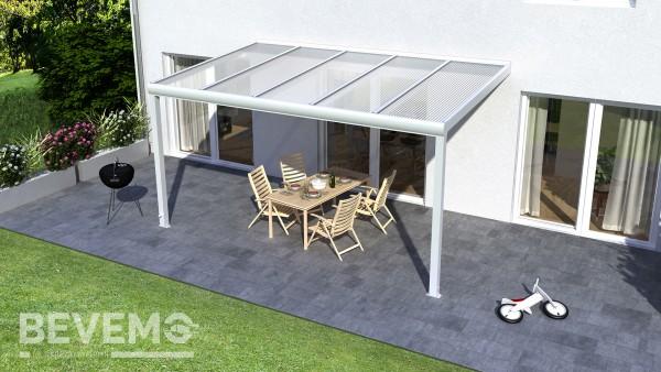 "Alu-Terrassenüberdachung ""Top-Line"" 4 x 3,5 Meter"