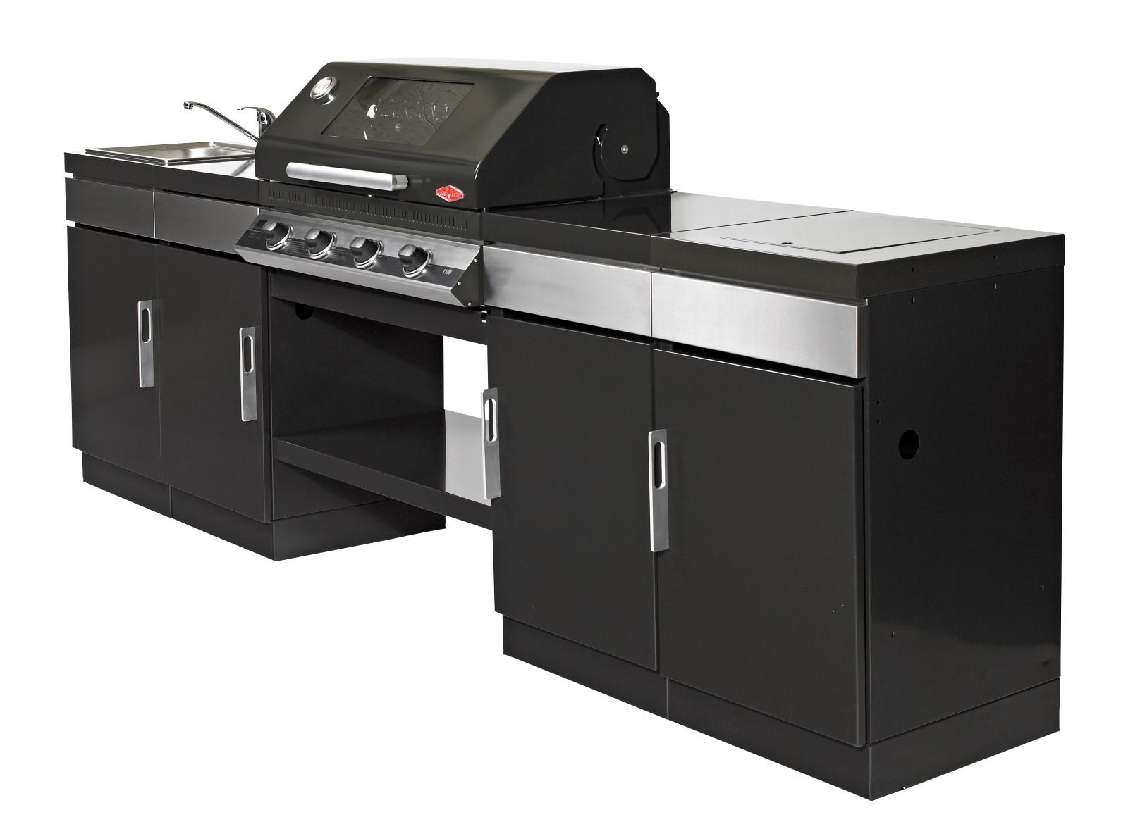 Outdoor Küche Module : Discovery 1100e 4 brenner emaille outdoor kÜche 4er modul bevemo
