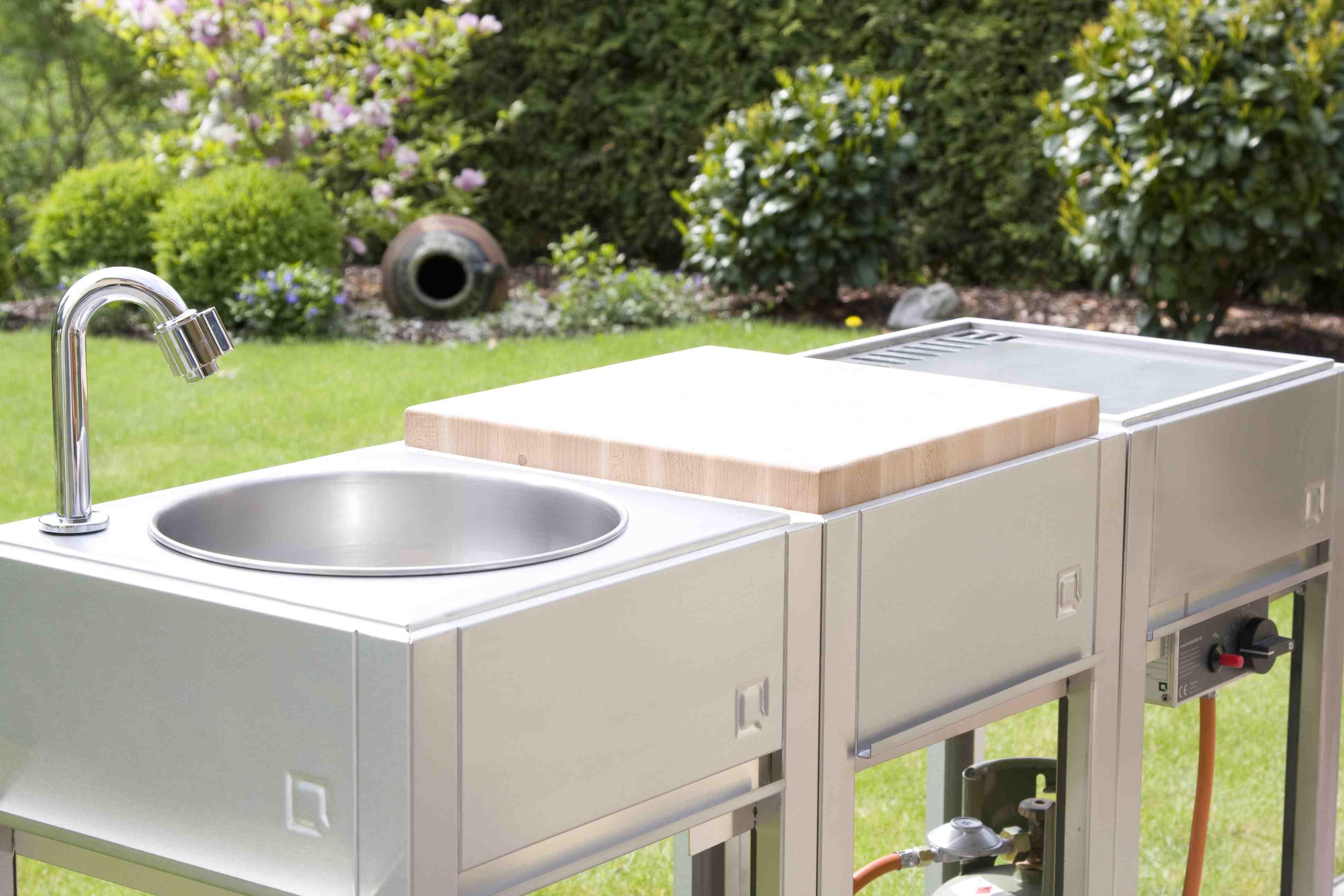 Outdoor Küche Module : Oneq smart outdoor cooking outdoorküche bevemo